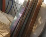 קורות עץ בעובי של 5 סנטימטר