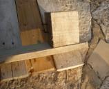 קוביות עץ 10x10x10, כאלו שיש בדרך כלל במשטחי הרמה