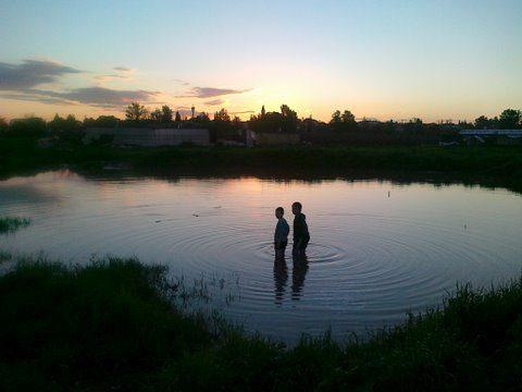 האגם...