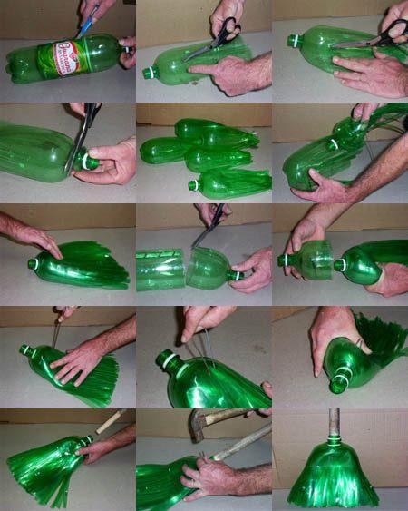 מטאטא מבקבוקים. מעניין.