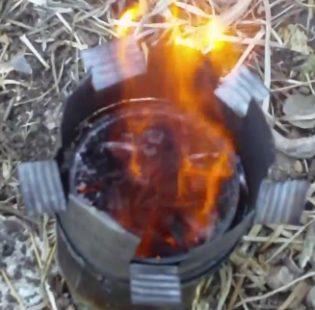 ה''גזיעץ'' - כירת שדה לשריפה יעילה