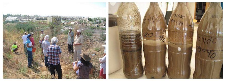 למדנו על סוגי קרקע, איך בודקים סוגי קרקע ואיך זה משפיע על קצב חלחול המים