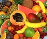 פירות, עיקר המזון הנא.