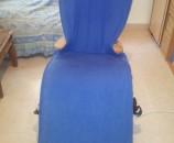 הכרית לפני התפירה, יושבת לא משהו כל הכיסא