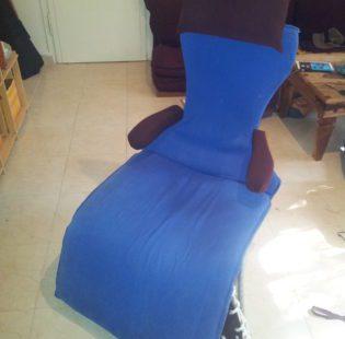הכיסא מוכן לישיבה ולנדנוד