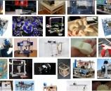 מגוון גדול של מדפסות תלת-מימדיות במקור פתוח
