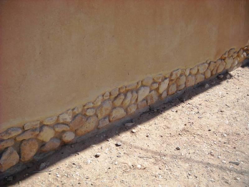 דוגמא טובה ל''נעליים טובות'' שמגינות על האדמה מהמים שזורמים על פני הקרקע
