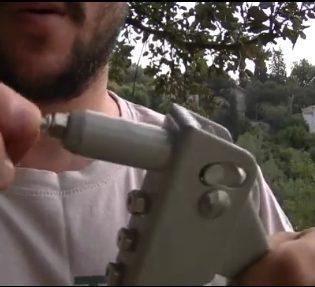 אקדח ניטים, עובדימים