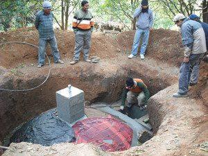 """מעכל אנאיירובי בנפאל שנבה ע""""י מהנדסים ללא גבולות בטכניון"""