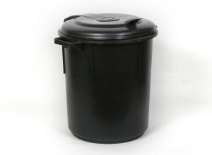 פח שחור 80 ליטר