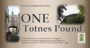 טוטנס פאונד - כסף מקומי בטוטנס אנגליה