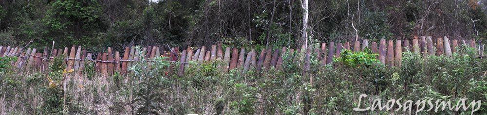 גדר מפצצות- יותר מ100 מטר