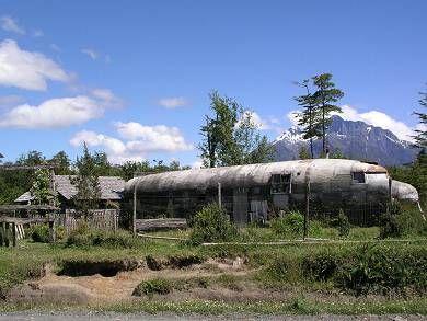 בית ממטוס צבאי ישן