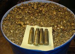 נחושת מקלעי רובה- מחזור ויצירת תכשיטים