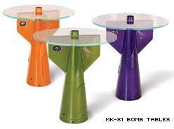 שולחן קפה/ בר מחלקי טילים- מתאים לפאבים ולא רק למסיבות גיוס