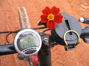 מצפן פרח ספידומטר ומד מרחק