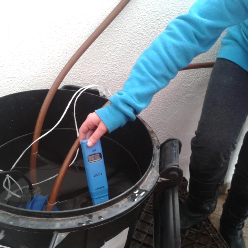 בדיקת מליחות מים