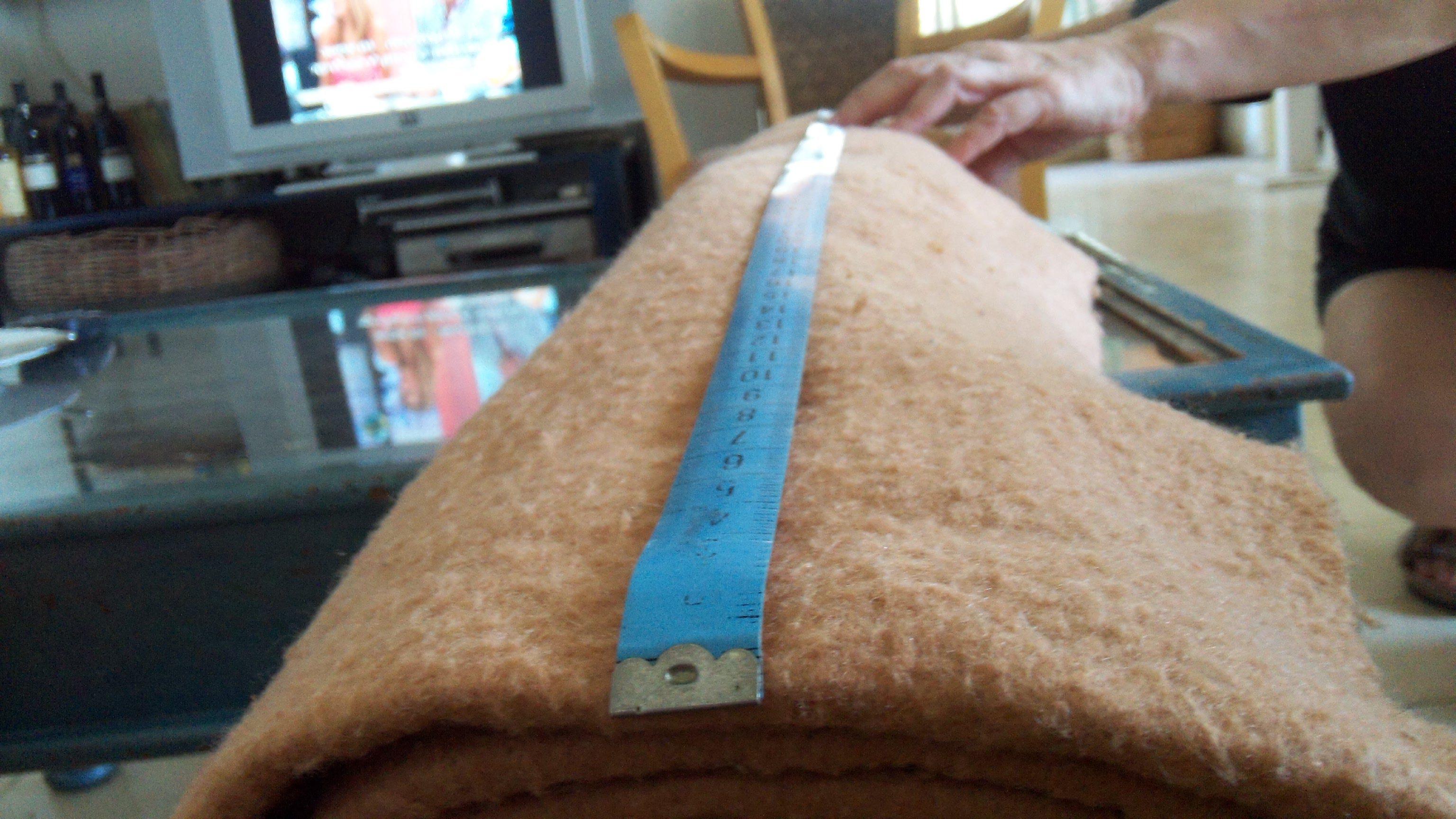 כך מודדים את אורך הגליל מקצה עד קצה