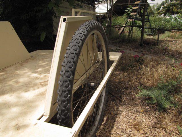 מגיני גלגלים בצורת טרפז