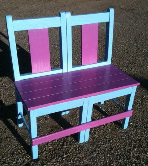 ספסל מכסאות 3
