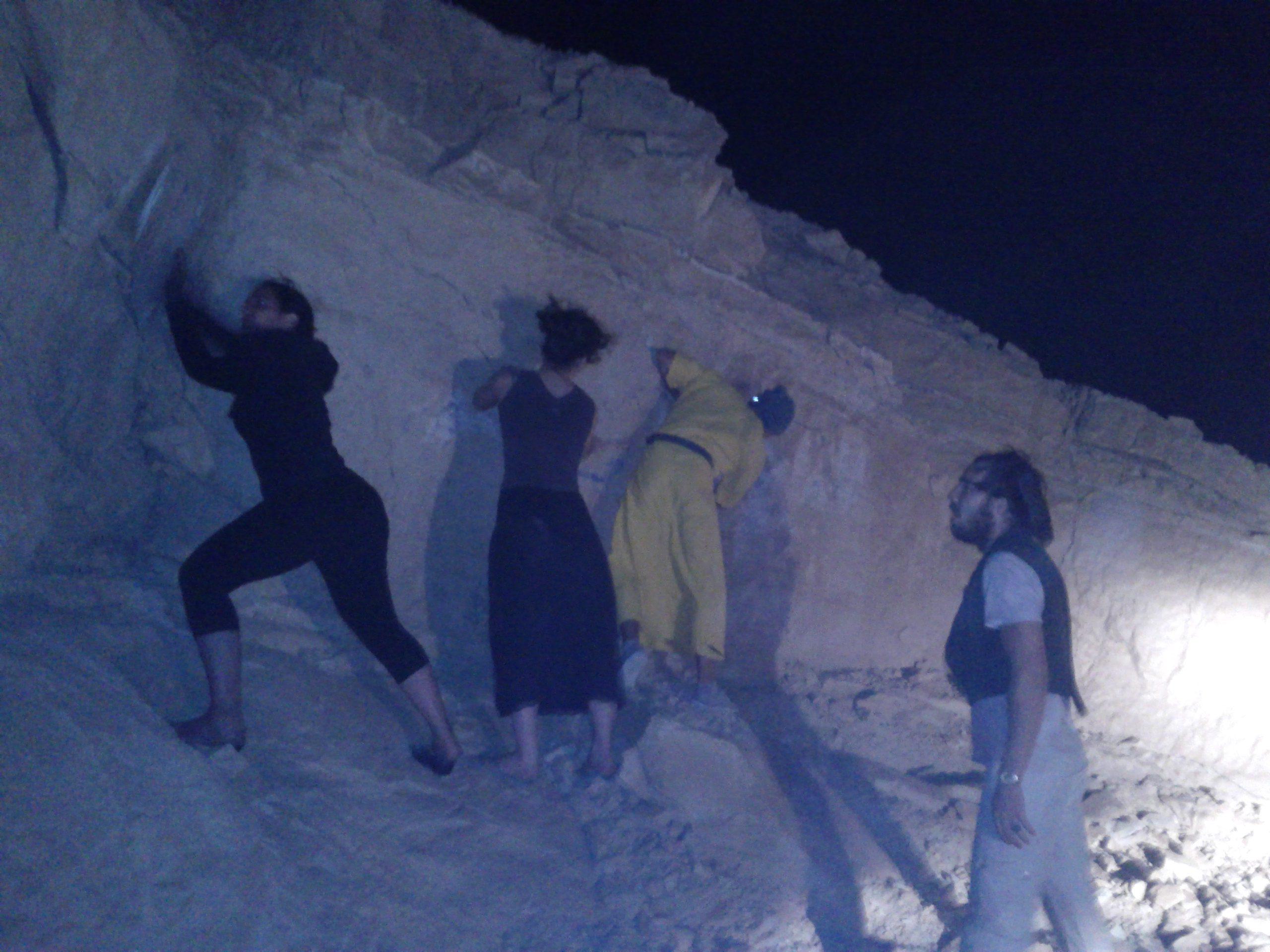 ליל מחיקת הגרפיטי הגדול במעלה עקרבים!