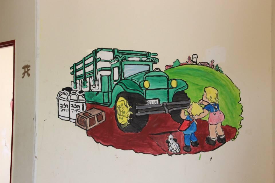 ציורי קיר ברוח הקיבוץ שלנו!