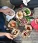 טלי ואורי מאיר-צ'יזיק אוכל