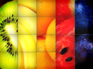 פירות צבעוניים
