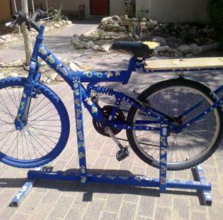 אחרי צביעה והאופניים מוכנות להכנת שייקים!