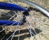 תמצאו אופניים ישנות ותקחו את הגלגל הקידמי (ללא שליפה מהירה)