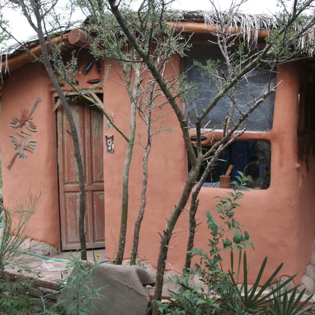 חיפוי אדמה לבקתת עץ - קורדובה, ארגנטינה