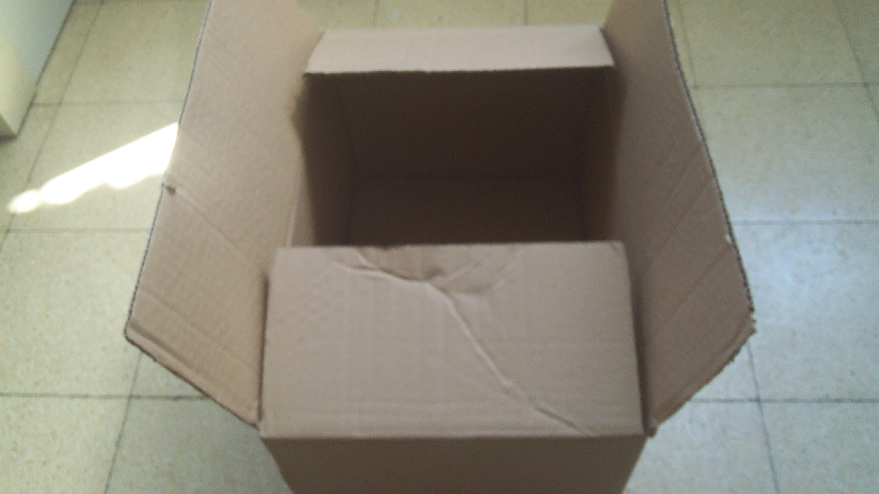 קופסא מהסוג המתאים להכנת תאטרון בובות