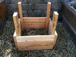 תפוחי אדמה מסגרות עץ שלב ראשון
