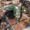 ג'יג (Jig) מאולתר לקדיחת הצינורות