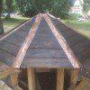 לכה וחיפוי נחושת גג קטן