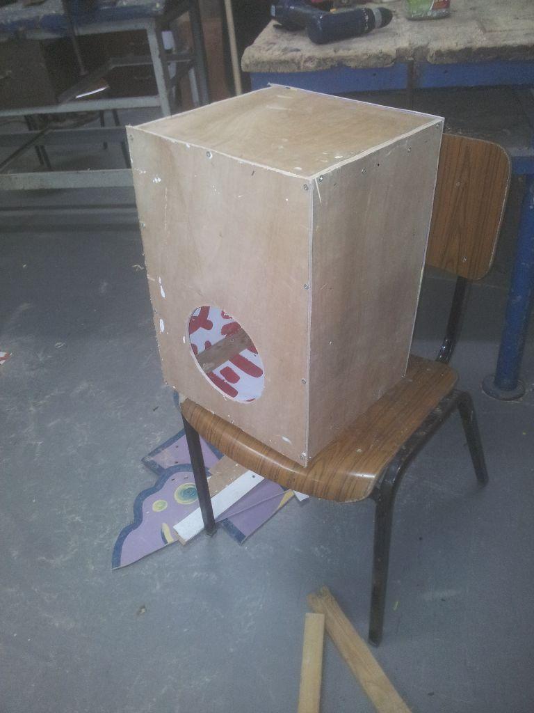 הקופסא מוכנה עקרונית, וכבר עושה צלילים לא רעים בכלל