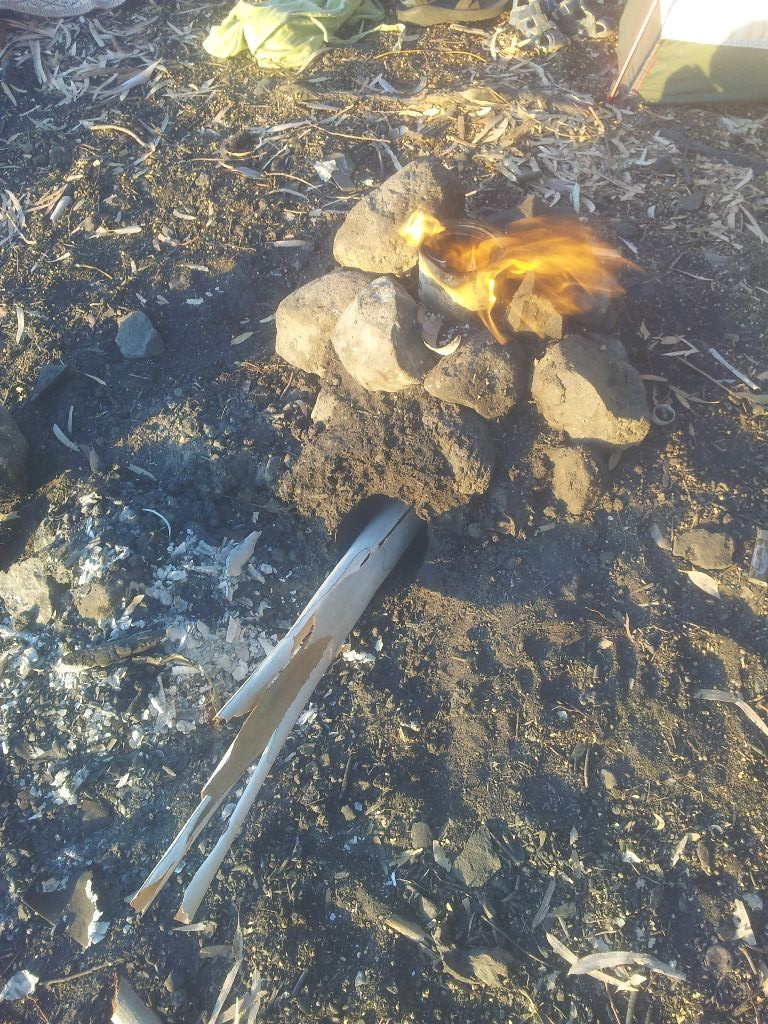 הגליל הניצב נשרף במהירות גדולה