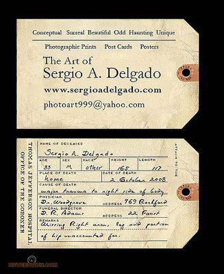 בידיים- כרטיס ביקור בעיצוב מיוחד
