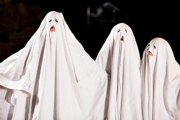 רוח רפאים - סדין לבן עם חורים לעינים, יותר פשוט מזה?!