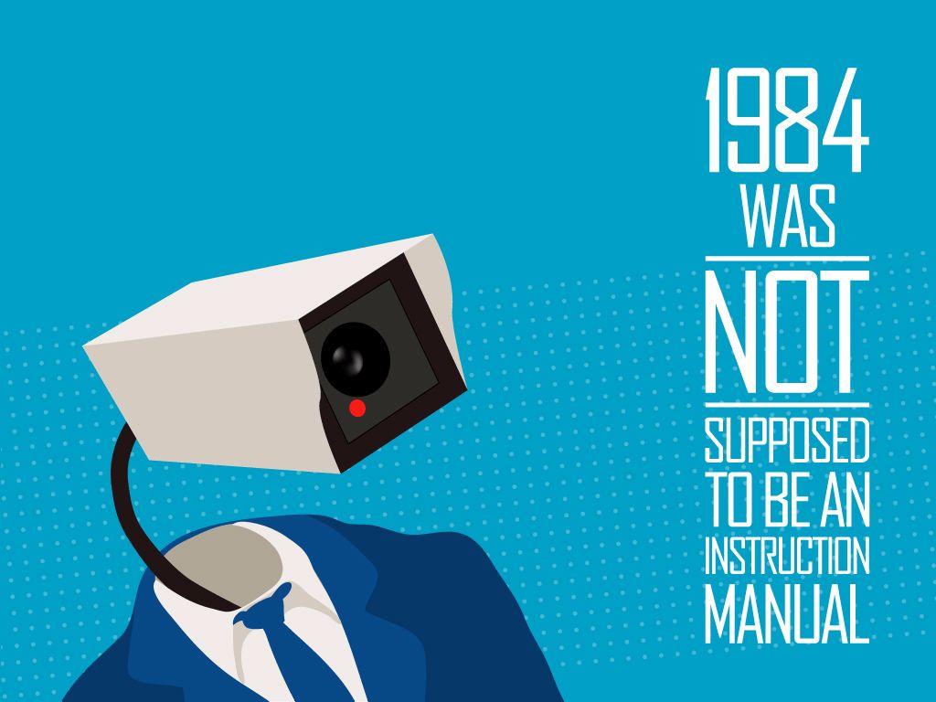 1984 לא תוכנן להיות חוברת הפעלה