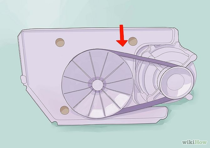 רצועה רופפת במכונת הכביסה 2- בידיים