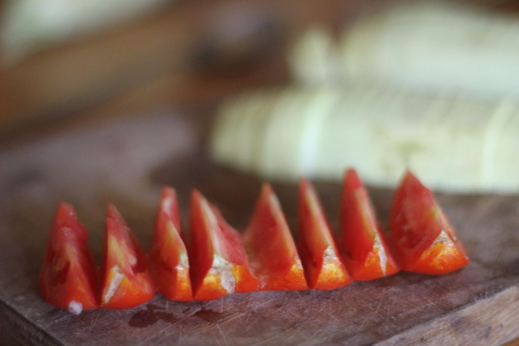 ייבוש עגבניות בבית מתכון