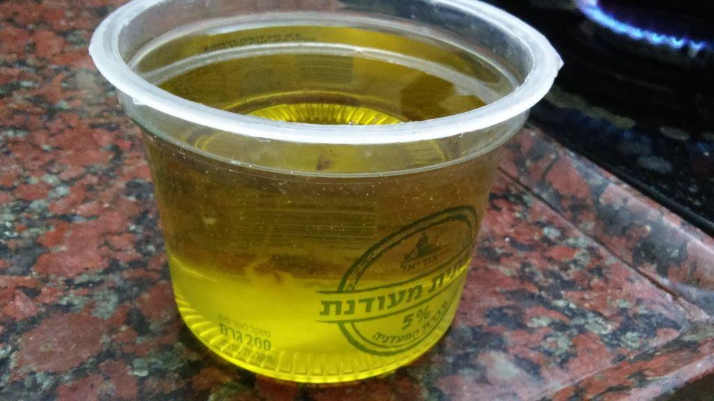 כוס המדידה - עכשיו עם השמן