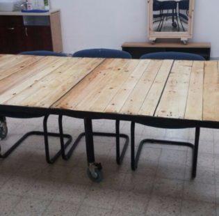 השולחן מוכן לעבודה!