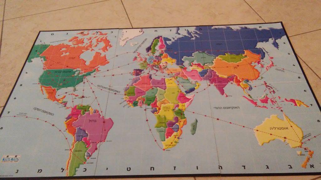 המפה המקורית של המשחק