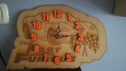 שעון מהיר ועצבני, מתנה לבן דוד איטי ורגוע