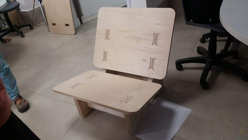 הכיסא מוכן