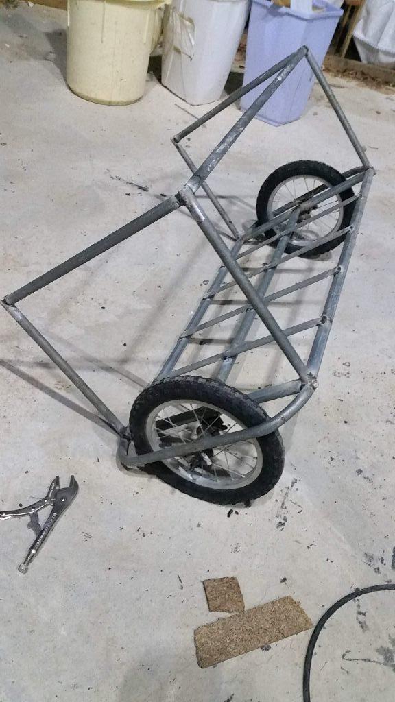 הגלגלים בסדר, העגלה לא מאוזנת
