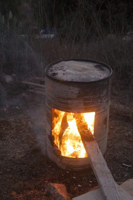 שריפת החבית