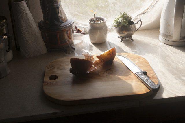 קרש חיתוך מעץ מלא מוכן